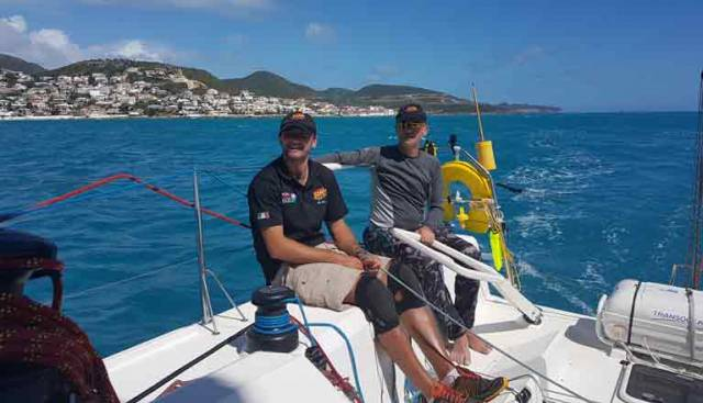 Irish Local Derby in RORC Caribbean 600