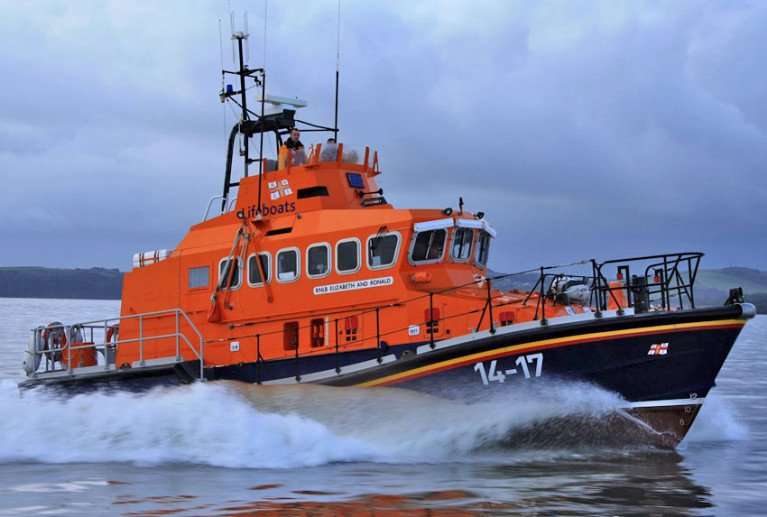 File image of the Dunmore East all-weather lifeboat, which was involved in the search for the missing fisherman