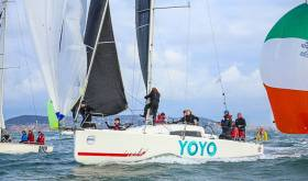 The Jeanneau Sunfast 3600 Yoyo will compete in June's Royal St. George Yacht Club event on Dublin Bay