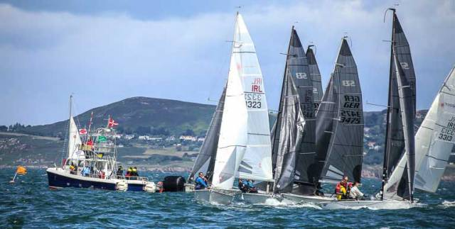 DBSC racing for SB20s gets underway on Dublin Bay