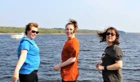 The Fló Beo team are experienced open water swimmers ready for the challenge ahead