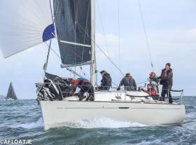 Early entry – Peter Beamish's National Championship winning Beneteau 31.7 'Camira'