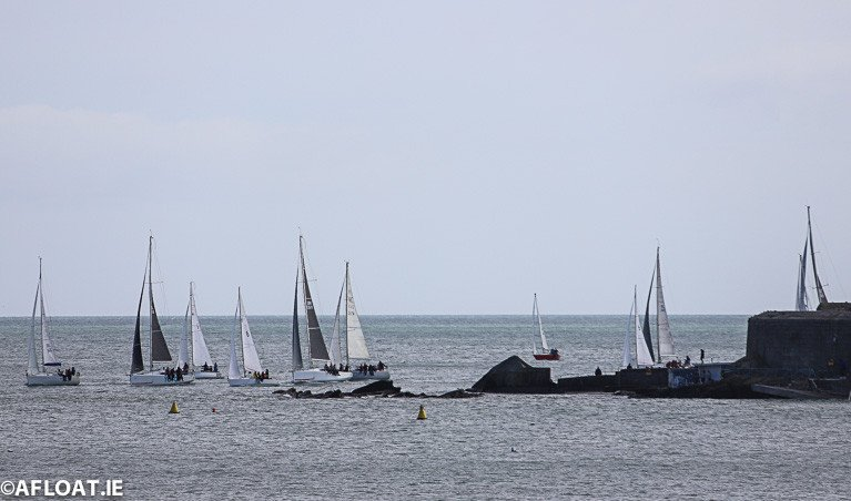 DBSC Spring Chicken Series Sails on Dublin Bay But DMYC Dinghies are Cancelled