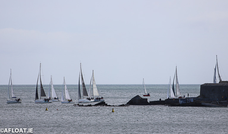 The Spring Chicken fleet return to Scotsman's Bay in their fourth race of the DBSC Series