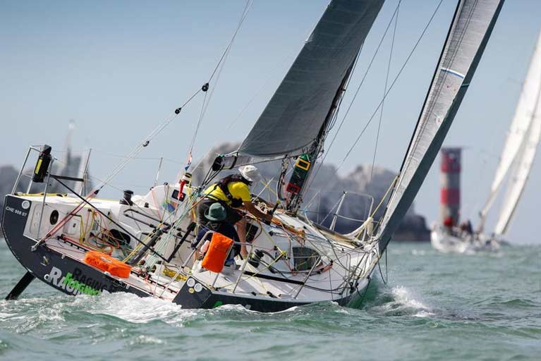 Open to COVID-19 compliant crews following Government regulations in both the Two Handed and Family/household classes the RORC Race the Wight takes place on Saturday 1st August