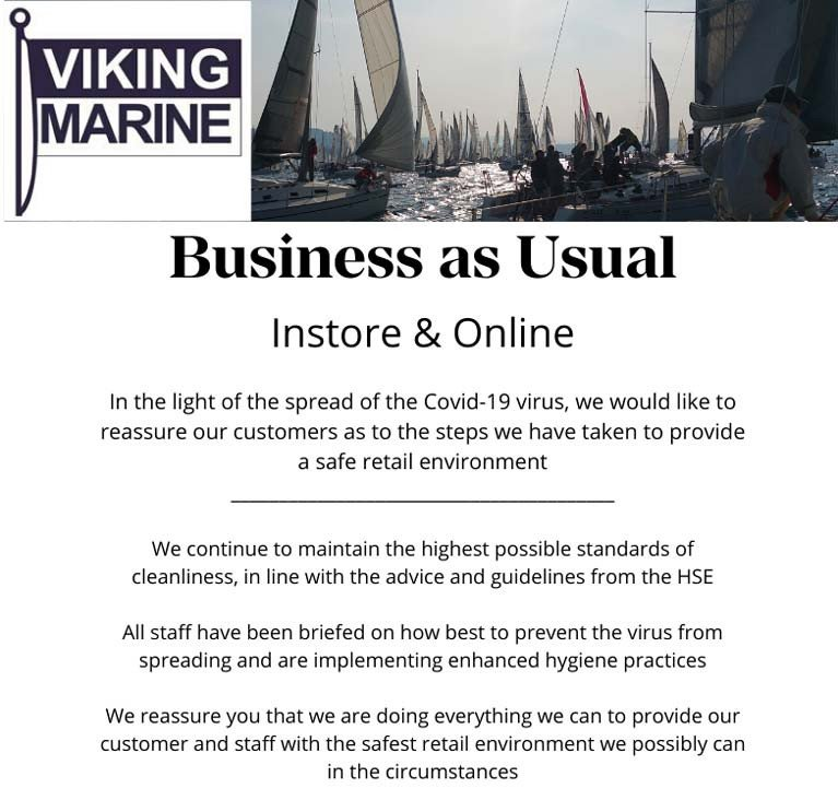 Viking Marine: Business as Usual In Store & Online