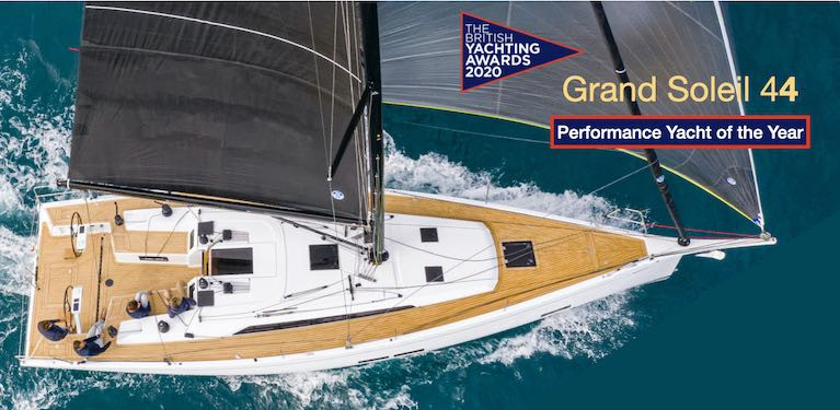 Grand Soleil 44 Performance Yacht of the Year Saluted by Irish Agent Mark Mansfield