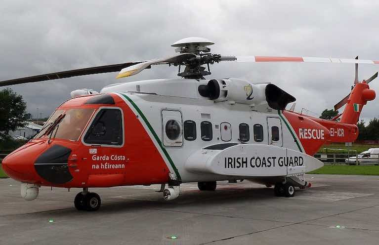 The current Coastguard contractor operates a fleet of Sikorsky S-92 helicopters from four bases: Shannon, Sligo, Dublin and Waterford
