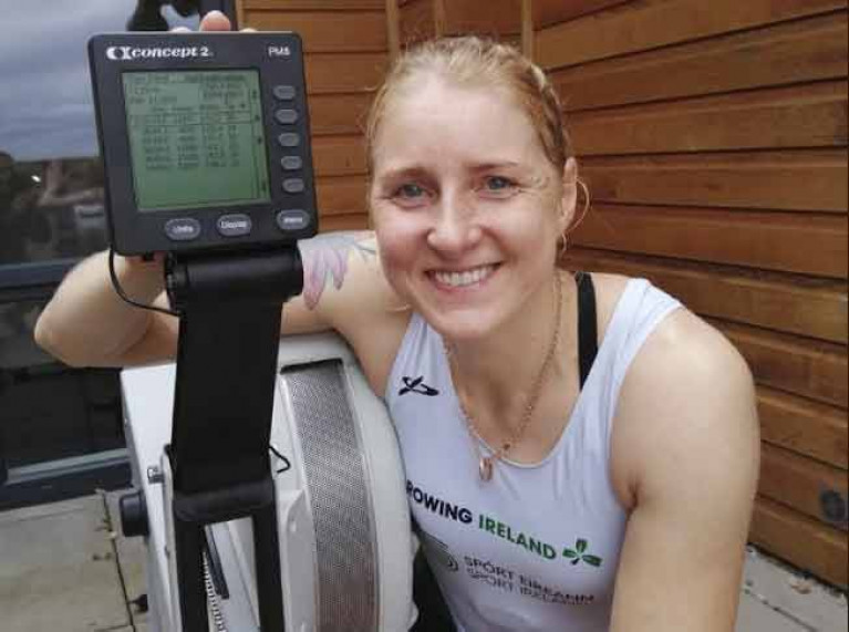 Sanita Puspure Breaks World Indoor Rowing Record