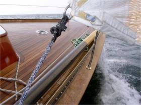 Upffront.com are promoting lighter, faster, safer sailing through the use of new technology i.e. composite materials, strops and soft connectors