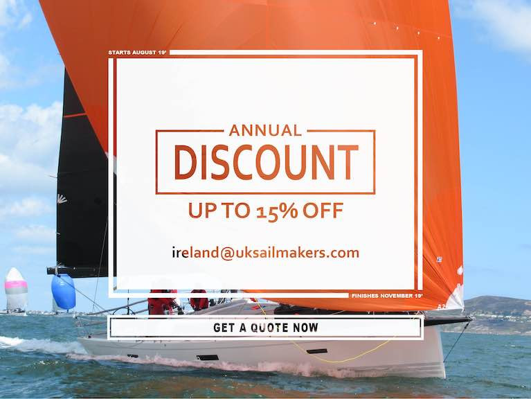 Winter Sails Discount 2020 – UK Sailmakers Ireland