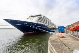 In 2018, the Port of Cork hosted 93 cruise ships, carrying in excess of 200,000 passengers and crew. The cruise ship visits continue in 2019 with the maiden call of Spirit of Discovery Cruise Liner (above) this July
