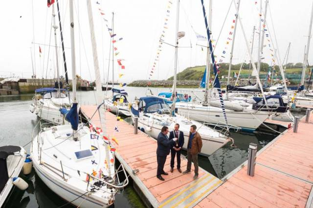 Bantry Harbour Marina Officially Opened,  40 Boats Visit New Irish Coastal Facility