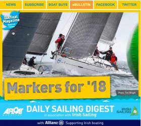Afloat.ie is aiming for even more readers in 2018 thanks to a great scene on Irish waters