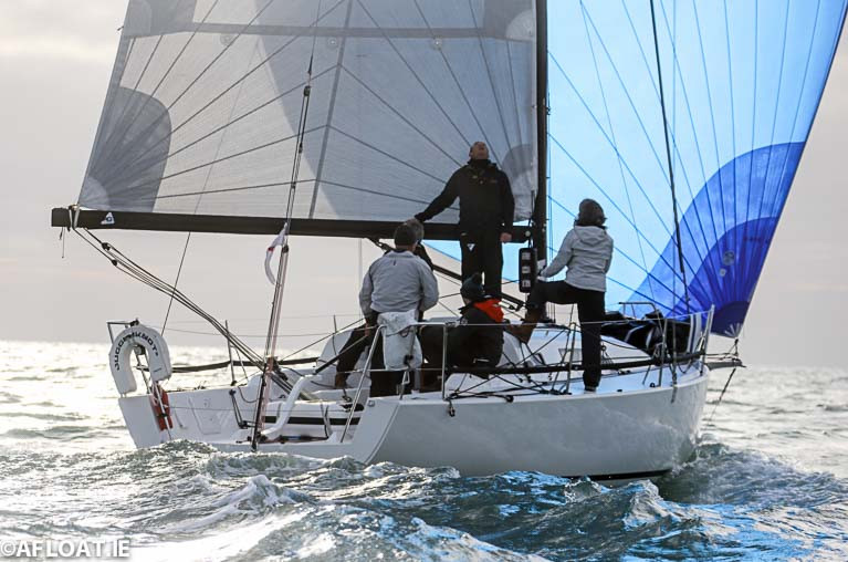 The J/99 Juggerknot II racing in the revamped 2020 ISORA season
