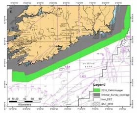 Marine Notice: Hydrographic & Geophysical Survey Off Mayo Coast, Celtic Sea & Irish Sea