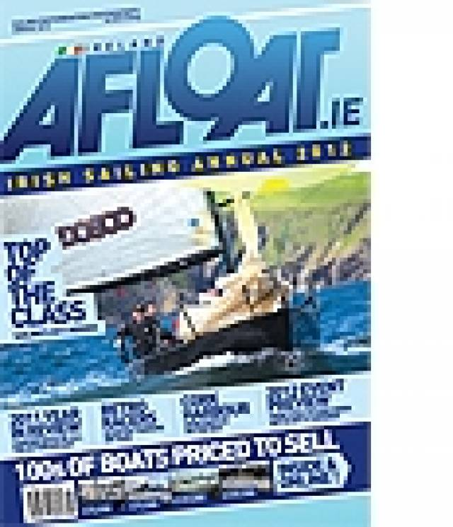 Afloat Irish Sailing Annual in Shops Friday