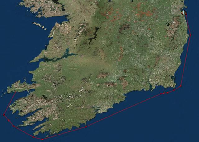 Dun Laoghaire to Dingle Yacht Race 2019 Tracker Here!