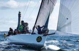 The symbol of the race is the Fastnet Rock, located off the southern coast of Ireland. Also known as the Teardrop of Ireland, the Rock marks an evocative turning point in the challenging race