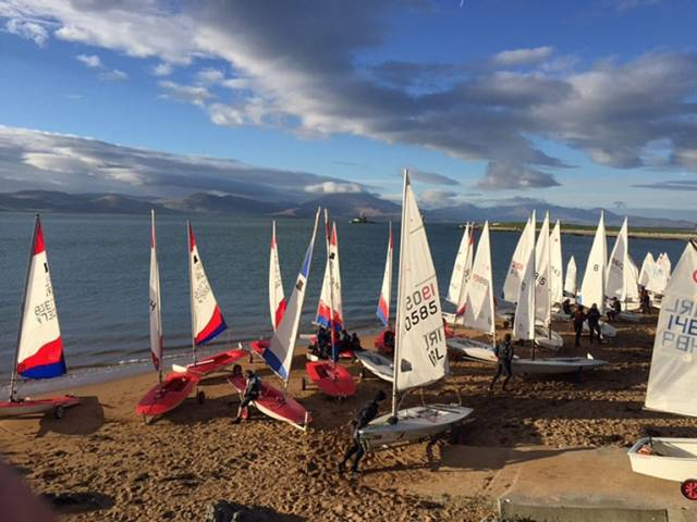 The weather Gods are smiling favourably with ideal sailing conditions forecasted for the week at Tralee Bay