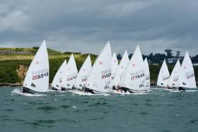 The Irish Laser fleet returns to Cork Harbour this weekend for its 'Connacht' Championships at Royal Cork Yacht Club