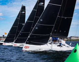 The new Mark Mills-designed Melges IC37 is the boat of choice for the New York YC Invitational Series which starts today at Newport, Rhode Island, with Anthony O'Leary of Royal Cork skippering the Irish challenge.
