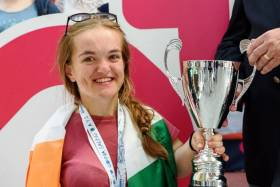 Kinsale's Gina Griffin, the World Disabled Sailing Championships sailor came second overall in the European 2.4 Para section at Gydnya, Poland Regatta in 2017