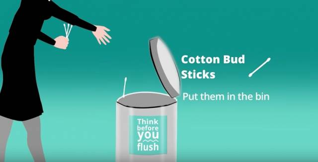 'Think Before You Flush' Initiative Adds More Communities