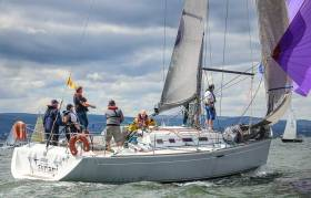 The National Yacht Club's First 40.7 Tsunami (Vincent Farrell)