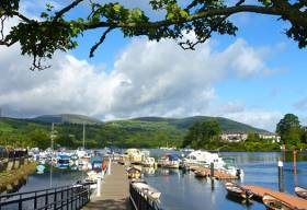 Killaloe is one of Lough Derg and the River Shannon's very special places. Photo: W M Nixon