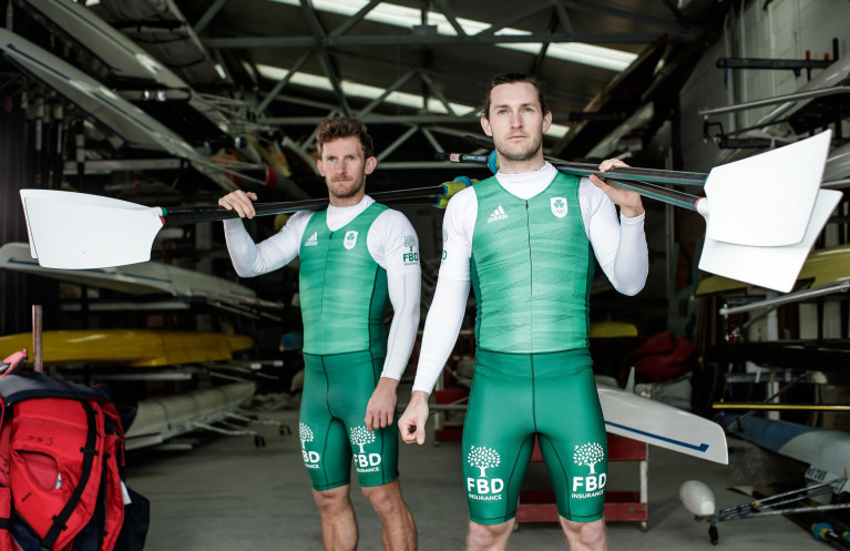 FBD brand ambassadors and Olympic medal-winning rowers Gary O'Donovan and Paul O'Donovan