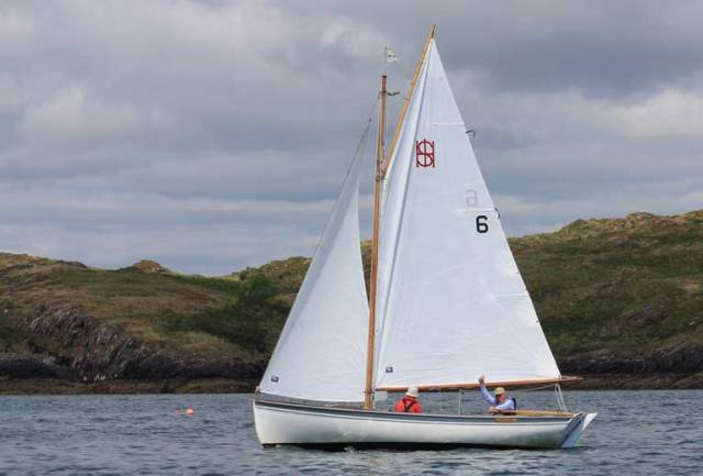 Declan Tiernan's Brigid was second at the Heir Island Championships