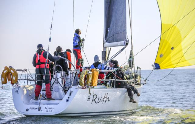 The Shanahan family boat 'Ruth' from the National Yacht Club will defend their 2015 title in June's Dun Laoghaire to Dingle Race
