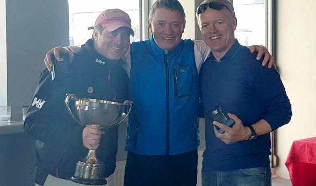 SB20 winners – Stefan Hyde, John Malone and Jerry Dowling