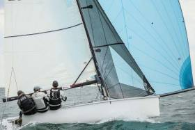 Alert Packaging skippered by Justin Bourke was second last night in DBSC's first Thursday race