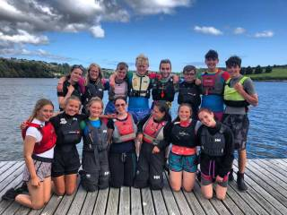 Bray Sailing Club instructor team at the Watersport Inclusion Games in Kinsale