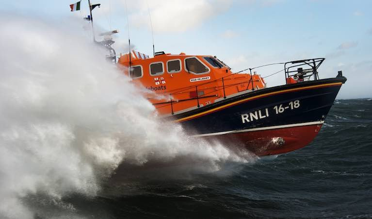 Family Whose Great-Grandfather was Recognised for Lifesaving Rescue Pay Tribute to Kilmore Quay RNLI