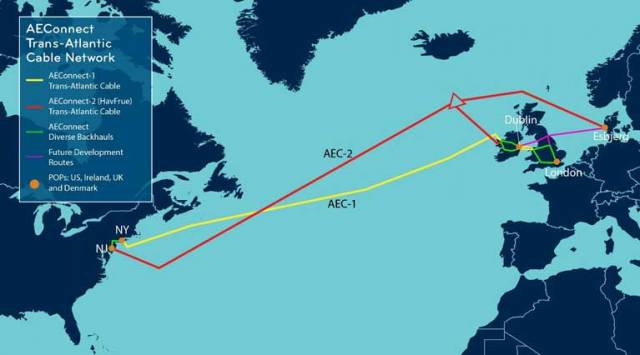 Transatlantic Cable from New Jersey, Funded by Facebook & Google, to Come Ashore in Clew Bay