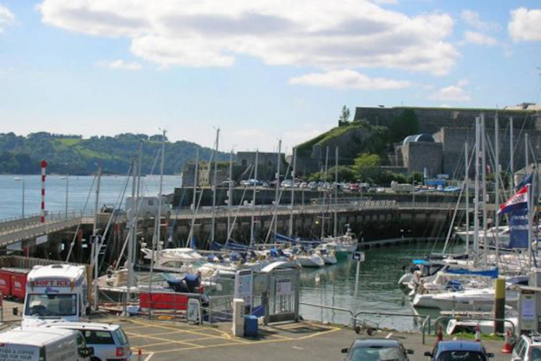 The Royal Western Yacht Club in Plymouth hosts the OSTAR and TWOSTAR transatlantic races