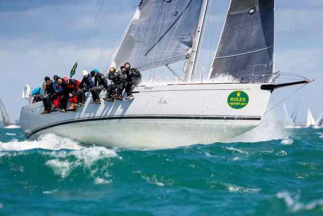 Nick & Suzi Jones' First 44.7 Lisa, skippered by RORC Commodore Michael Boyd