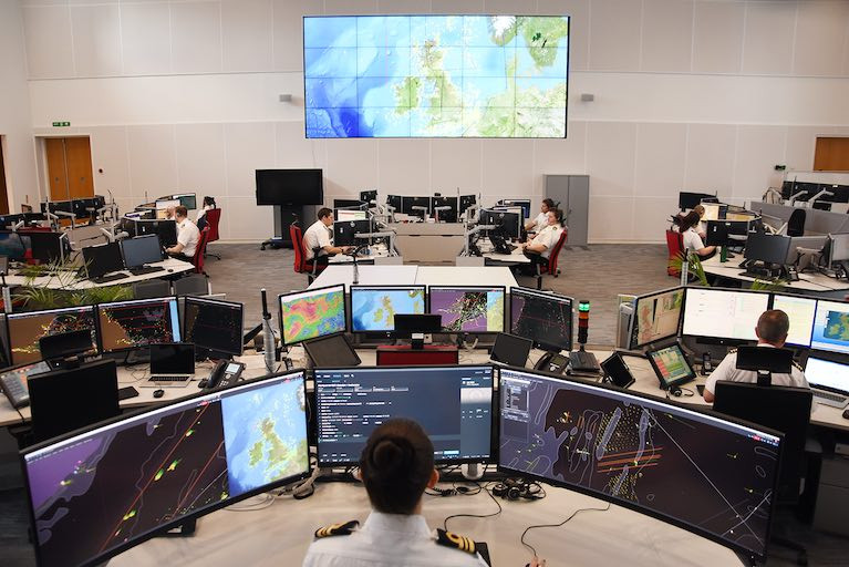 HM Coastguard's National Maritime Operations Centre