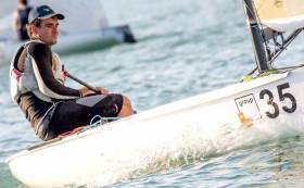Baltimore Finn sailor Fionn Lyden is in action in Cadiz tomorrow