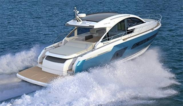 The new Targa 53 OPEN express cruiser