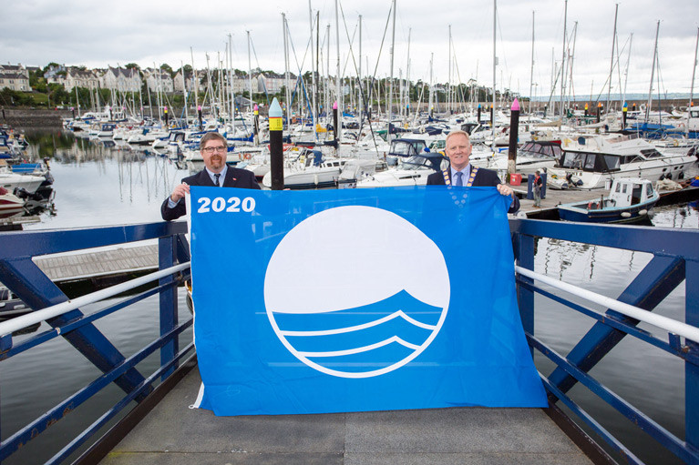 Bangor Marina Awarded International Blue Flag for 2020 Season