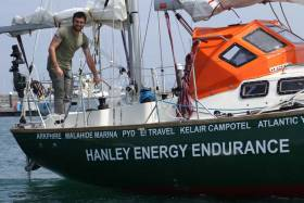 McGuckin will be the only Irish entrant in the Golden Globe Race