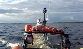 Lough Derg RNLI tow the cruiser