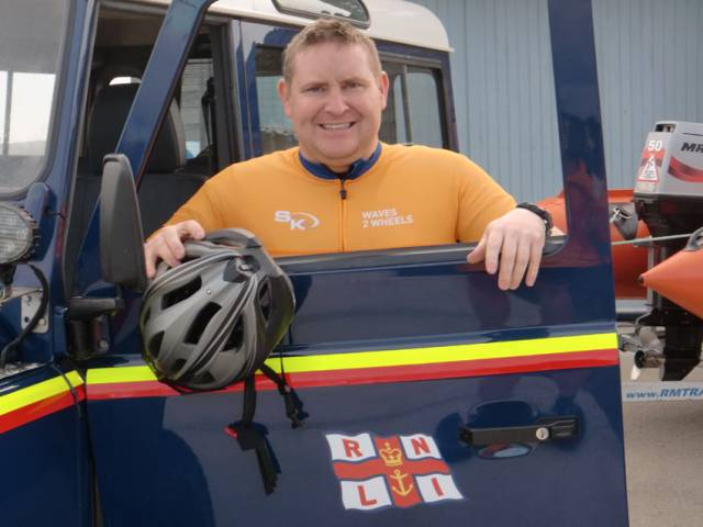 Ballyglass RNLI's volunteers are getting ready to swap the waves for the road