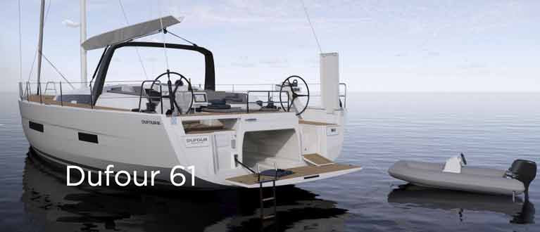 Crosshaven Boatyard Reveal New Dufour 61 (Video)