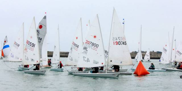 48th DMYC Frostbite Series Gets Underway in Dun Laoghaire Harbour