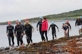 Swimmers taking part in the 11th Galway Bay Swim on Saturday 23 July